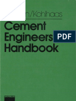 Cement Engineers Handbook - Labahn & Kohlhaas