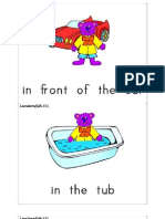 Toy Preposition Cards