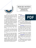 2013 House Notes - Week 7