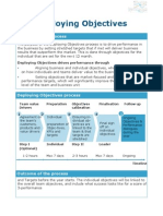 Deploying Objectives - Managers Manual