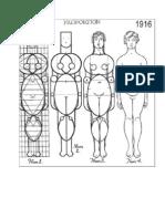 Human Body Greek Proportions