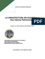Arquitectura en Guatamala No Mucho Sirve