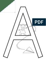 Coloring Sheets Alphabet
