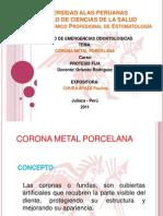 Corona Metal Porcelana