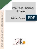 Memorias de Sherlock Homnes _inglés_