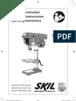 Manual_3320 Furadeira Skil Bancada