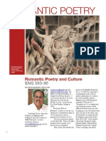 Romantic Poetry and Culture Syllabus