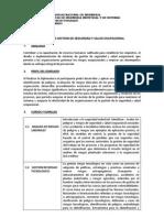 Diplomado Seguridad y Salud Ocupacional