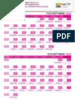 Calendario CTO