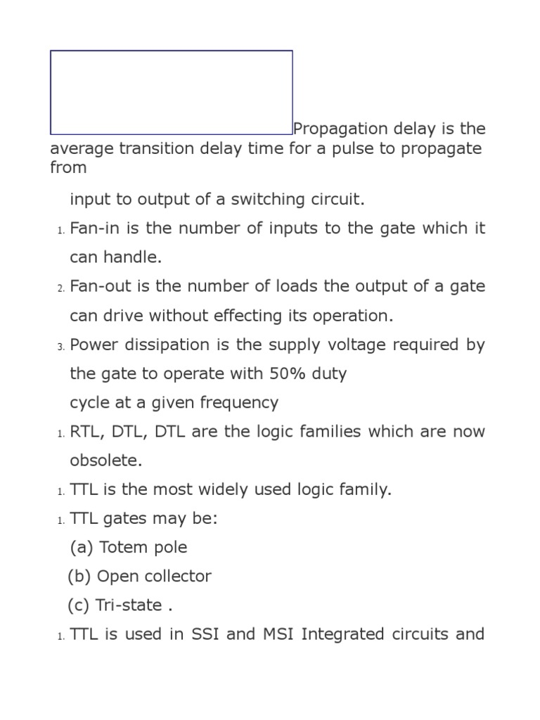 Untitled 1 Cmos Mosfet Schematic Of One Ttl Inverter This Is Commonly Called A