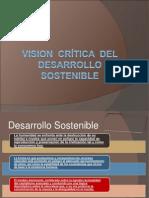 VISION  CRÍTICA  DEL DESARROLLO  SOSTENIBLE