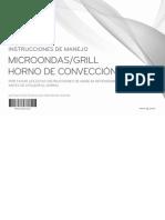 Manual Microondas LG MFL62567202
