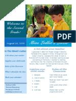 Newsletter Revised, 2nd Grade 1.29.2008.Do1