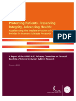 Protecting Patients, Preserving Integrity