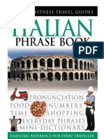 05 Eyewitness Travel Guides Italian Phrasebook