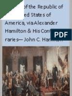 History of the Republic of the United States of America VOL 2 - John C Hamilton 1857