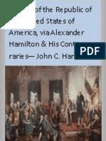 History of the Republic of the United States of America VOL 7 - John C Hamilton 1864