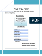 British Pound trading in CME.docx
