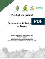 DESARROLLO FRUTICOLA BOYACA