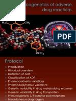 Pharmacogenetics of Adverse Drug Reactions