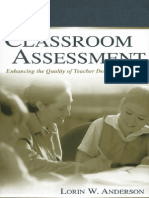 Classroom_Assessment LORIN ANDERSON