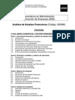 Programa Aef. Curso 2011-12