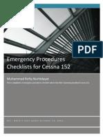 Emergency Procedures - Cessna 152