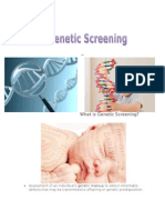 Genetic Screening