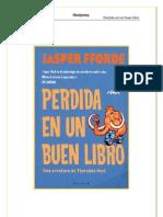 Perdida en Un Buen Libro - Forde Jasper