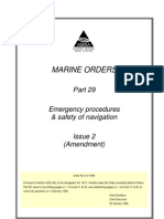 Emergency Procedures & Safety of Navigation