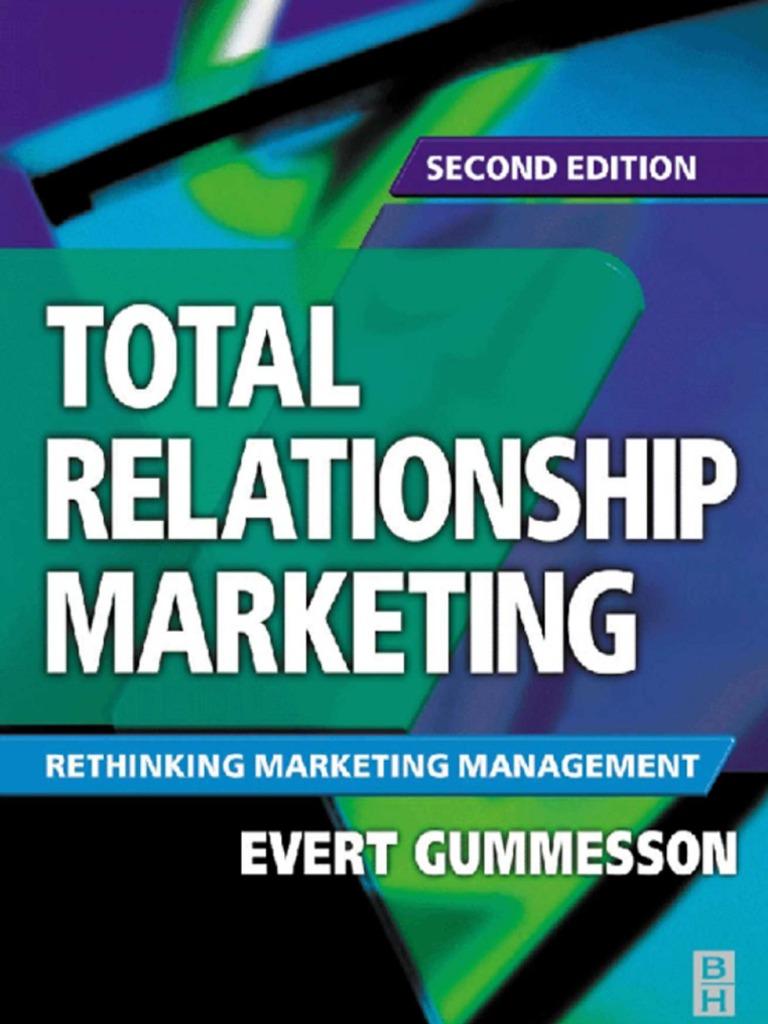 Graeme forbes modern logic scribd - Total Relationship Marketing Customer Relationship Management Marketing