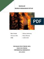 reling kebakaran hutan