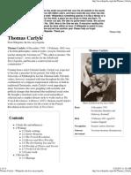 Thomas Carlyle - Wikipedia, The Free Encyclopedia