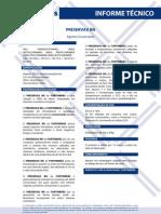 Informe Tecnico Preservax BN 0