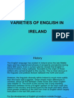 Varieties of English- Ireland