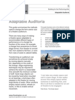 Building for the Performing Arts 5 - Adaptable Auditoria