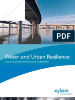Water and Urban Resilience Paper