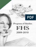 2009-10 FHS Program of Studies