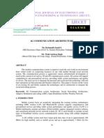 4g Communication Architecture