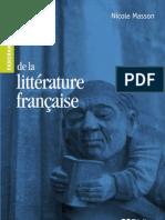 Panorama de La Littérature Française - Nicole Masson