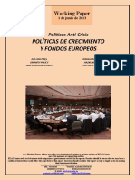 Políticas Anti-Crisis. POLITICAS DE CRECIMIENTO Y FONDOS EUROPEOS (Es) Anti-Crisis Policy. GROWTH POLICY AND EUROPEAN FUNDS (Es) Krisiaren Aurkako Politikak. HAZKUNDE POLITIKAK ETA FUNTS EUROPEARRAK (Es)