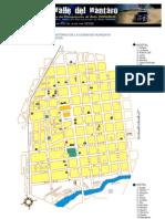 Mapa Centro Historico de Huancayo