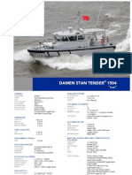 "DAMEN STAN TENDER 1504 ""H 01"""