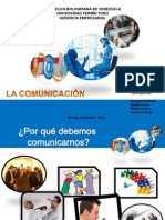 LA COMUNICACIÓN EFECTIVA, 2012