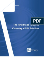 The First Steps Toward Choosing a PLM Solution