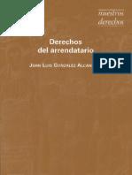 503022 Derechos Del Arrendatario - Juan Luis Gonzalez Alcantara