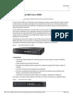 Router VPN Dual WAN Cisco RV082