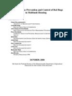 Bedbugs Multiunit Management