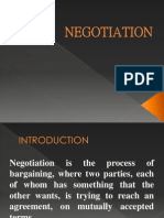 Negotiation (managerial communication)