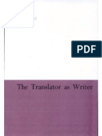 93362763 Bassnett Susan the Translator as Writer